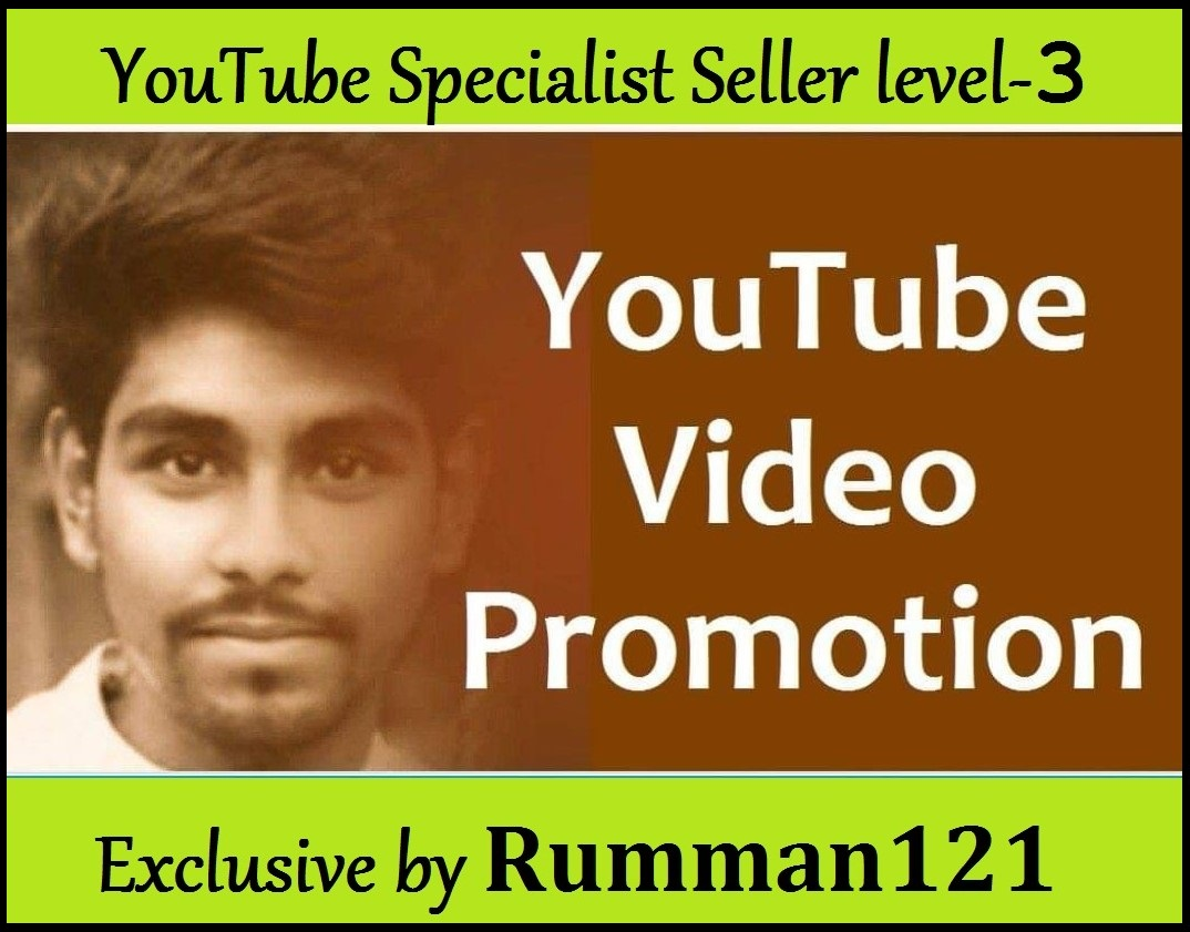 High Retention YouTube All Package Promotion and Marketing