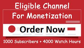 YouTube Promotion Monetization Package Manually Guaranteed