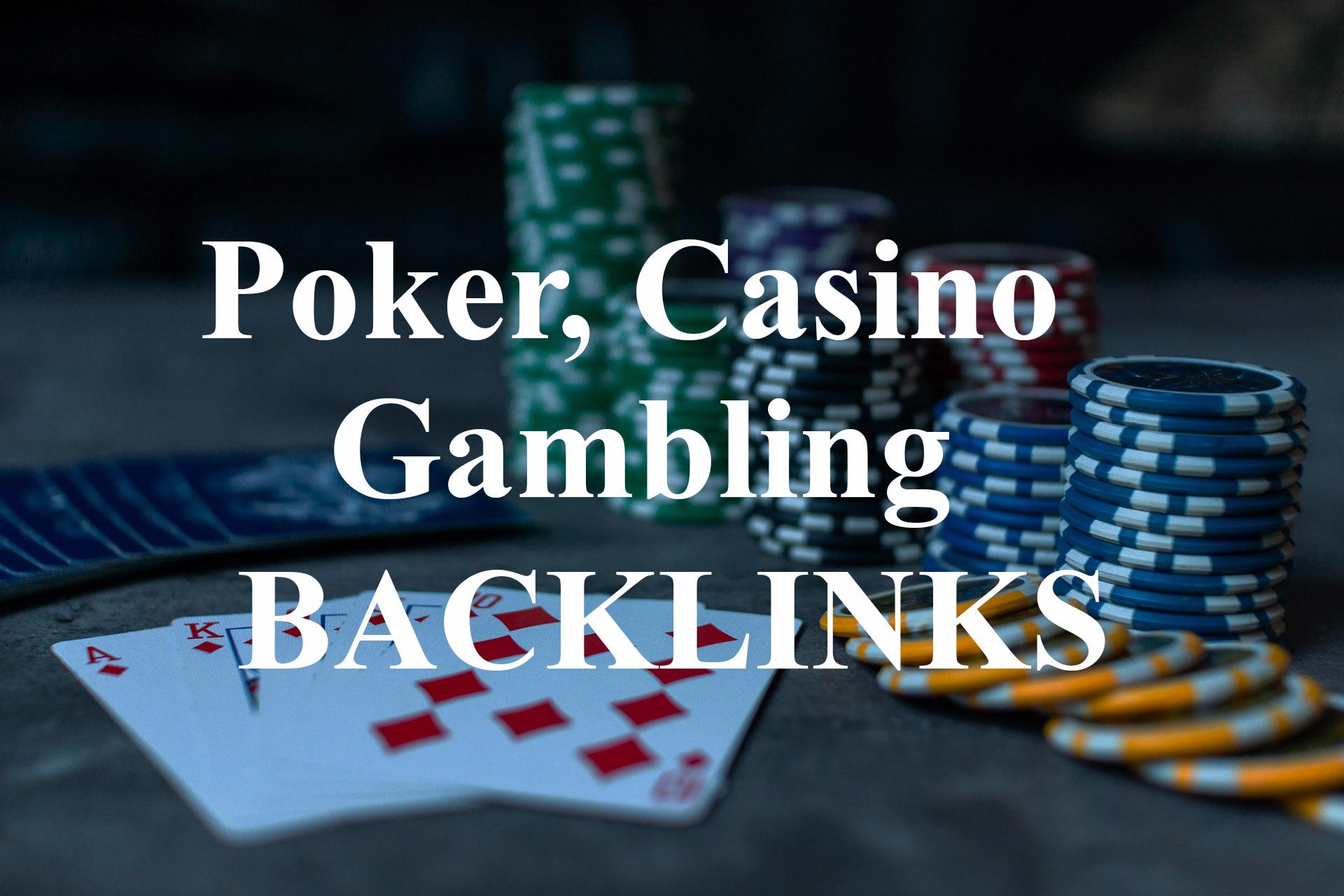 2500 poker,  casino and gambling pbn backlinks