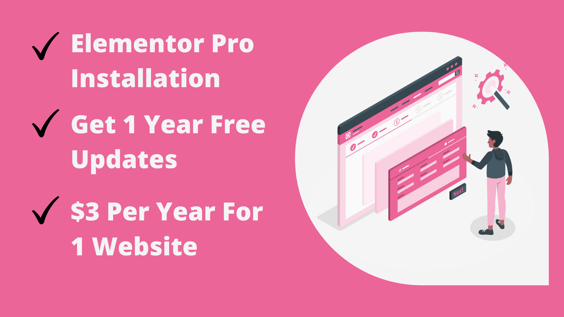Install Elementor Pro plugin on your wordpress website