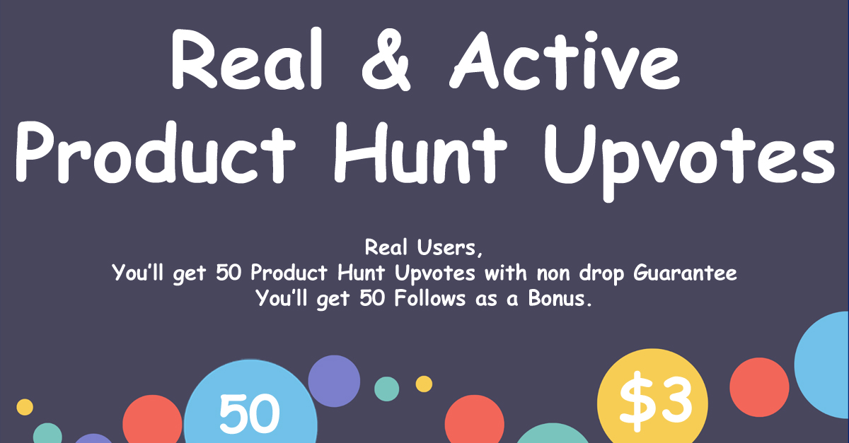 Buy 80 Product Hunt Upvotes with Followers