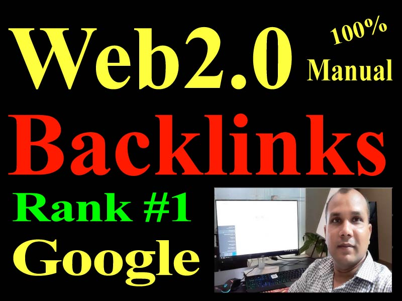 30 Manual Web 2.0 Backlinks Dofollow high quality permanent link building