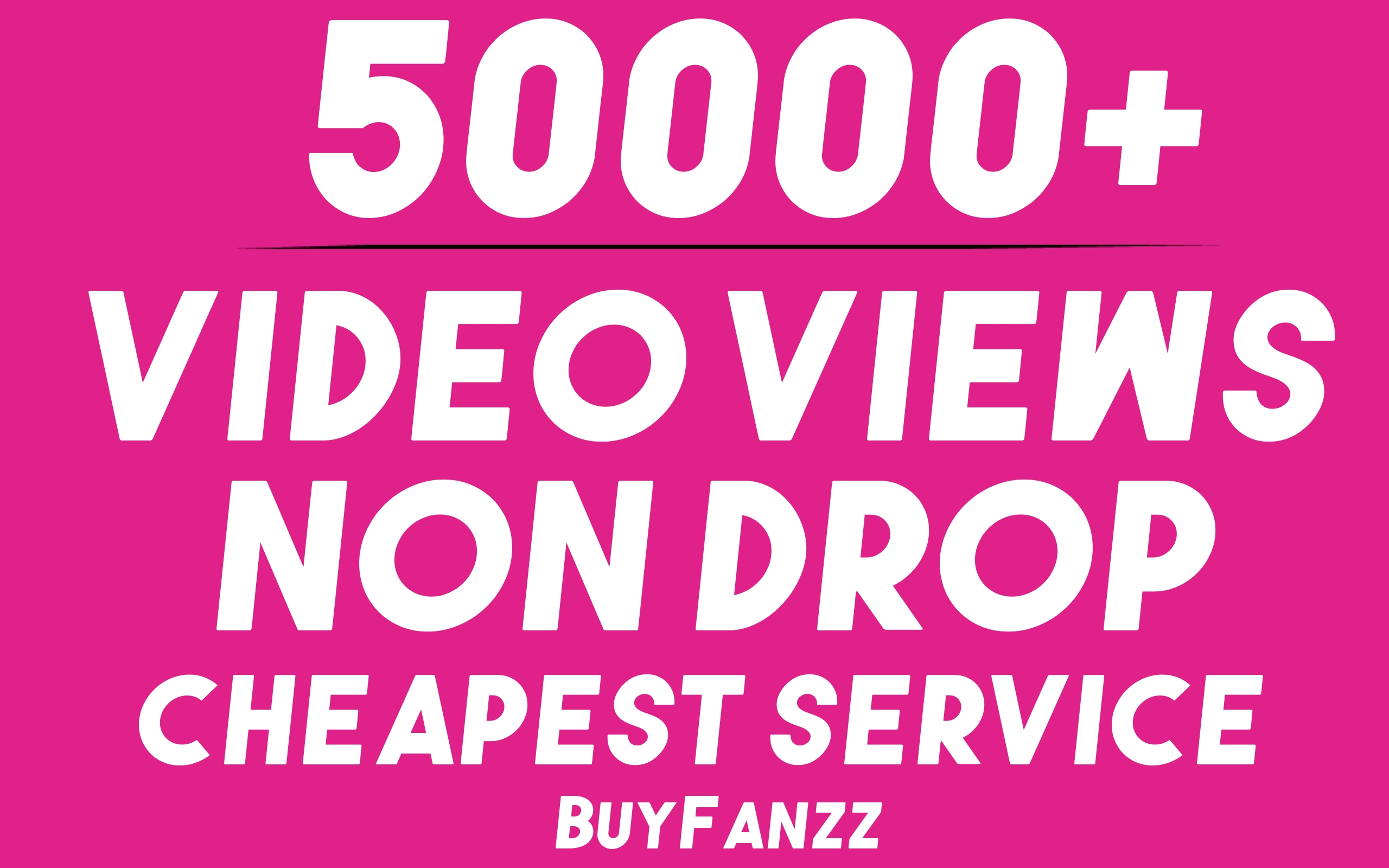 Get 50000+ SOCIAL VIDEO HQ Visitors Promotion Very Fast Speed