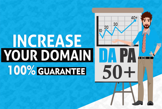 I will increase domain authority moz da 40 plus