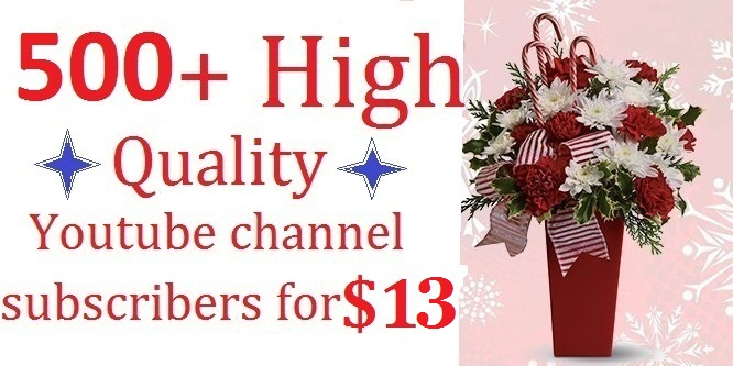 Super cheap rate, 500+ High quality, Video promotion