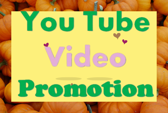 Manually give H.Q Video Promotion In 24 hrs Delivery