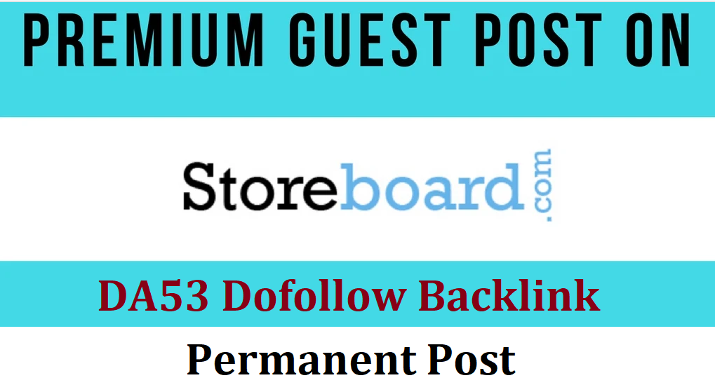 Write and Publish guest post on Storeboard. com with Do-Foll0w backlinks