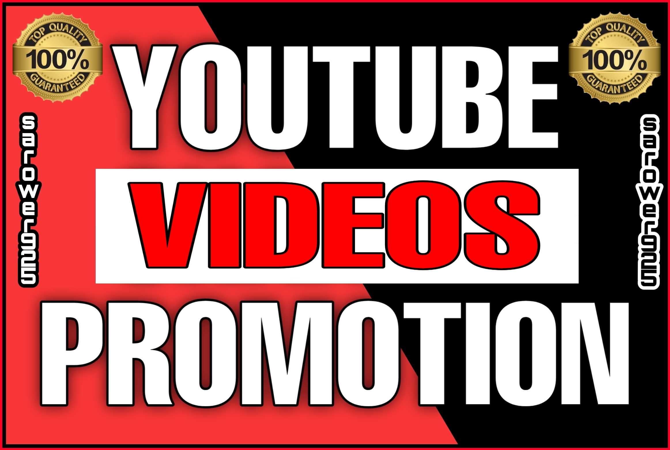 High Quality youtube videos promotions package