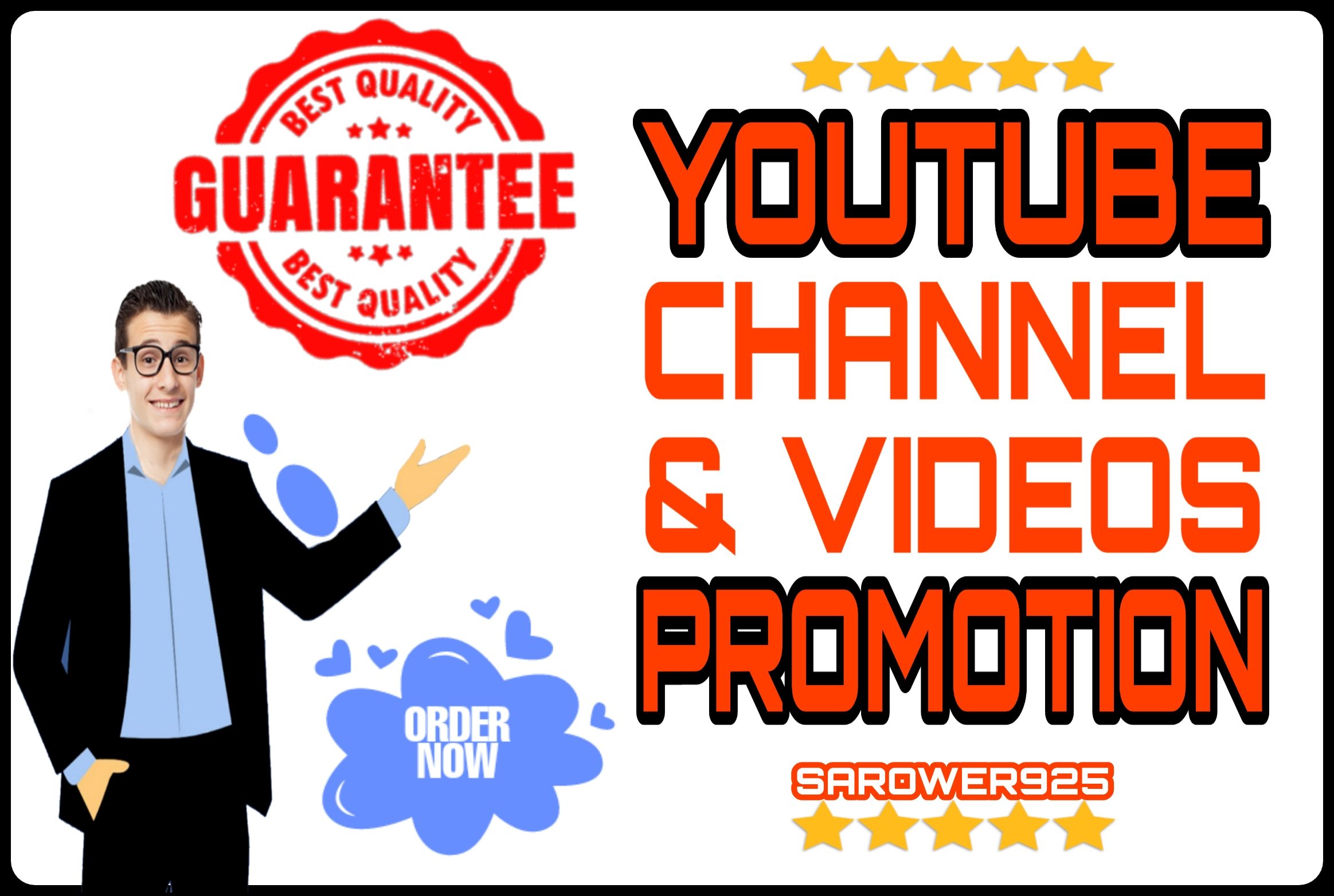 Youtube all promotion services in One service