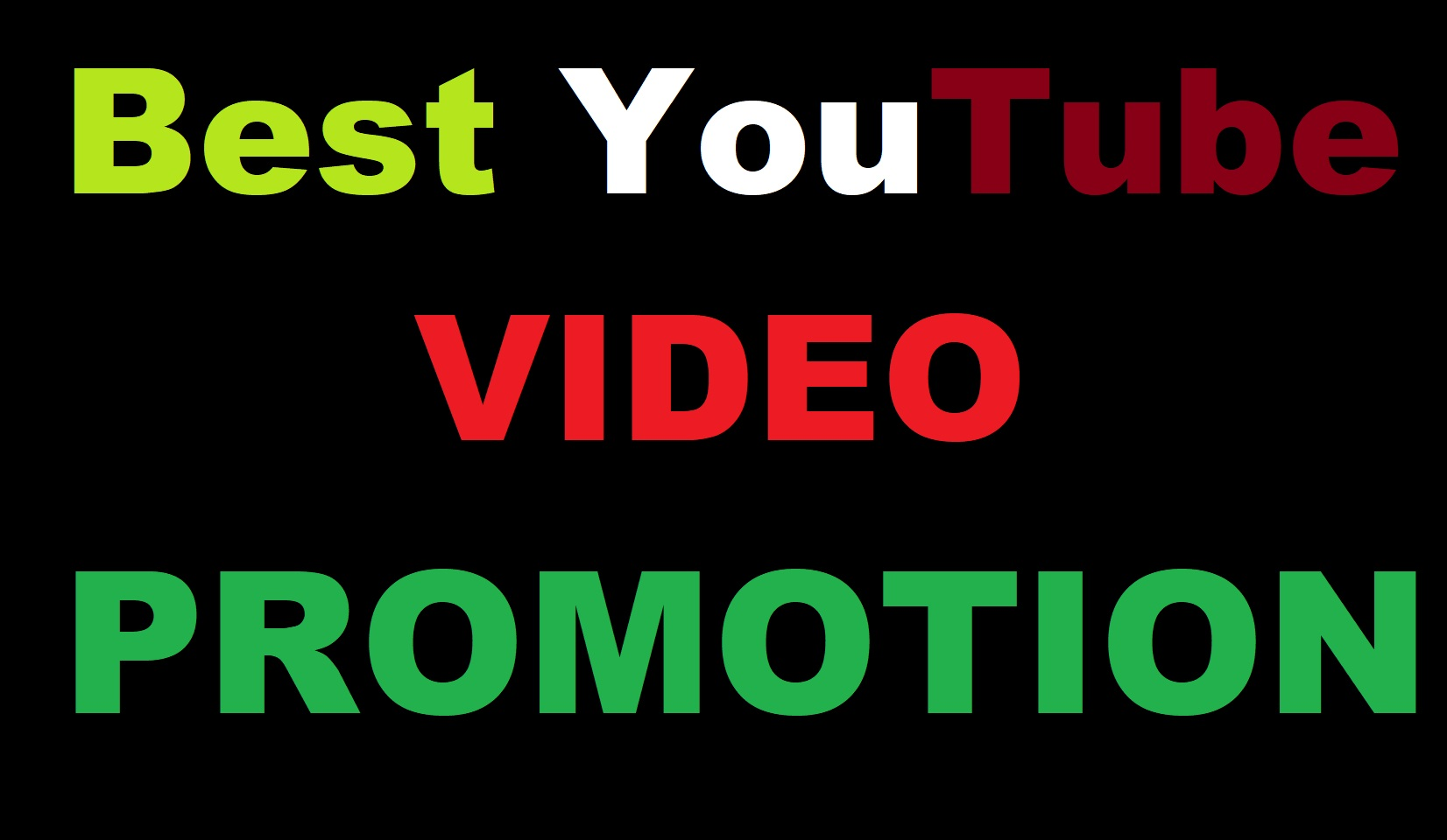 Best YouTube Video Marketing Promotion Package