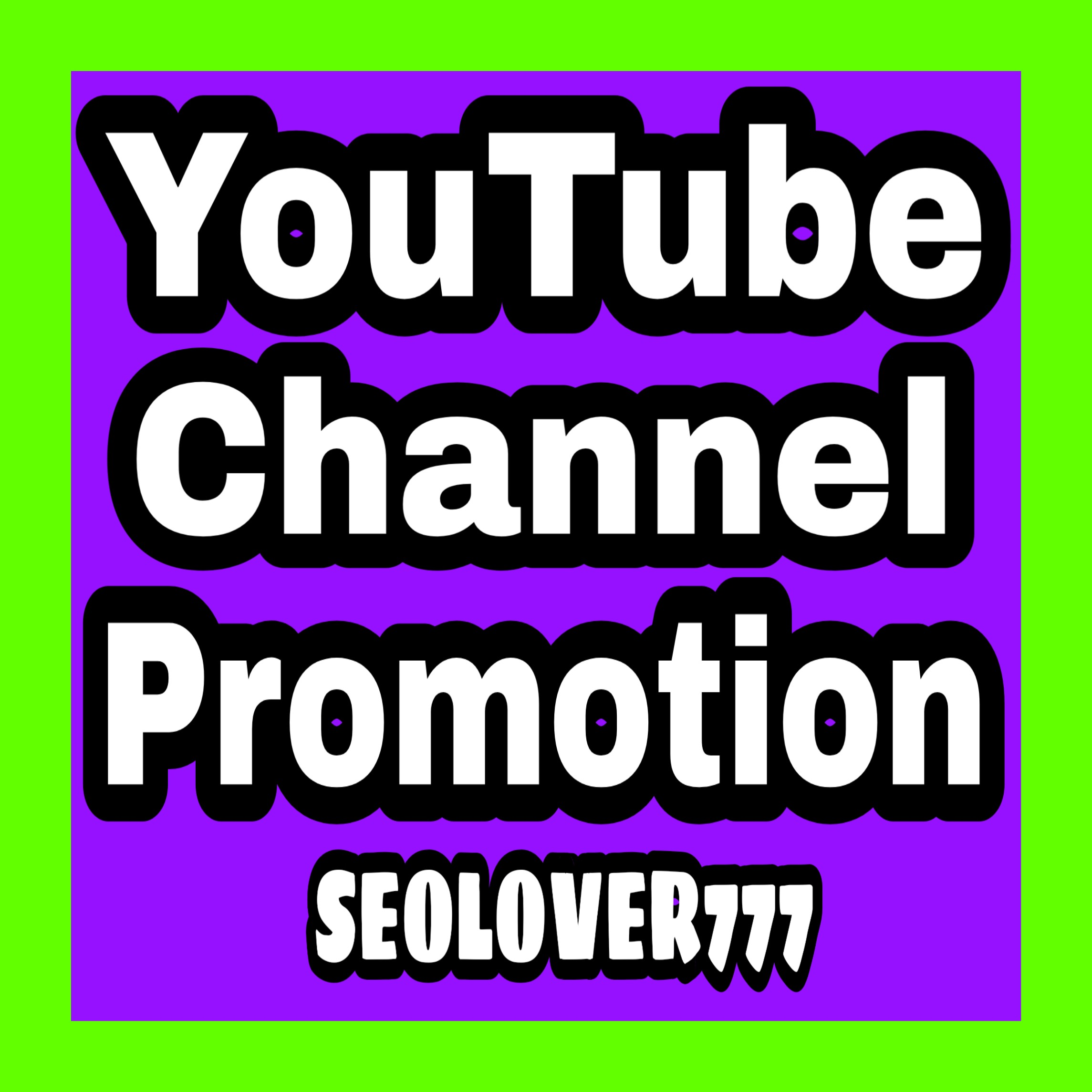 YouTube organic promotion via real & active users with fast completed