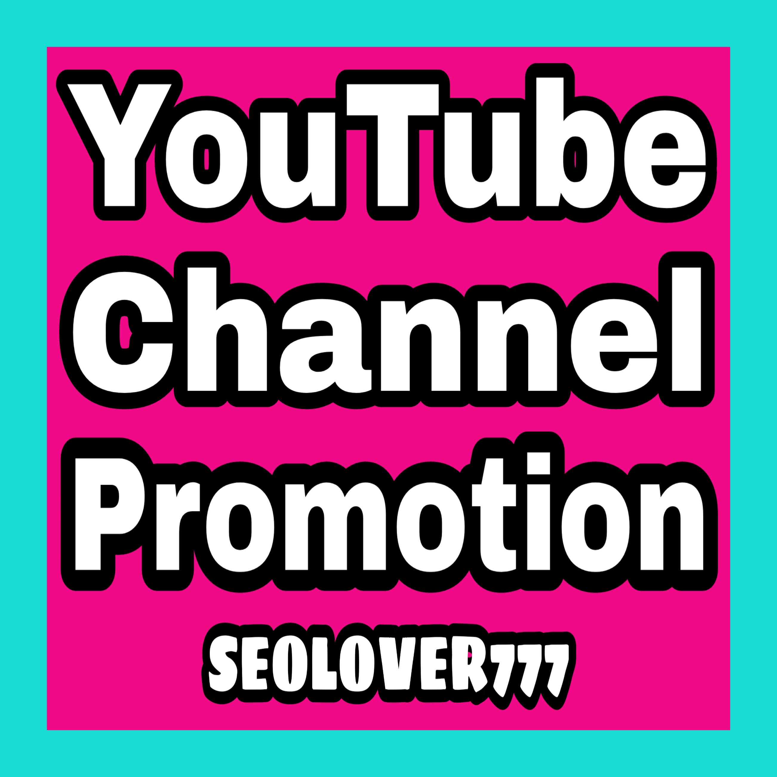 Provide you Natural YouTube Promotion fast