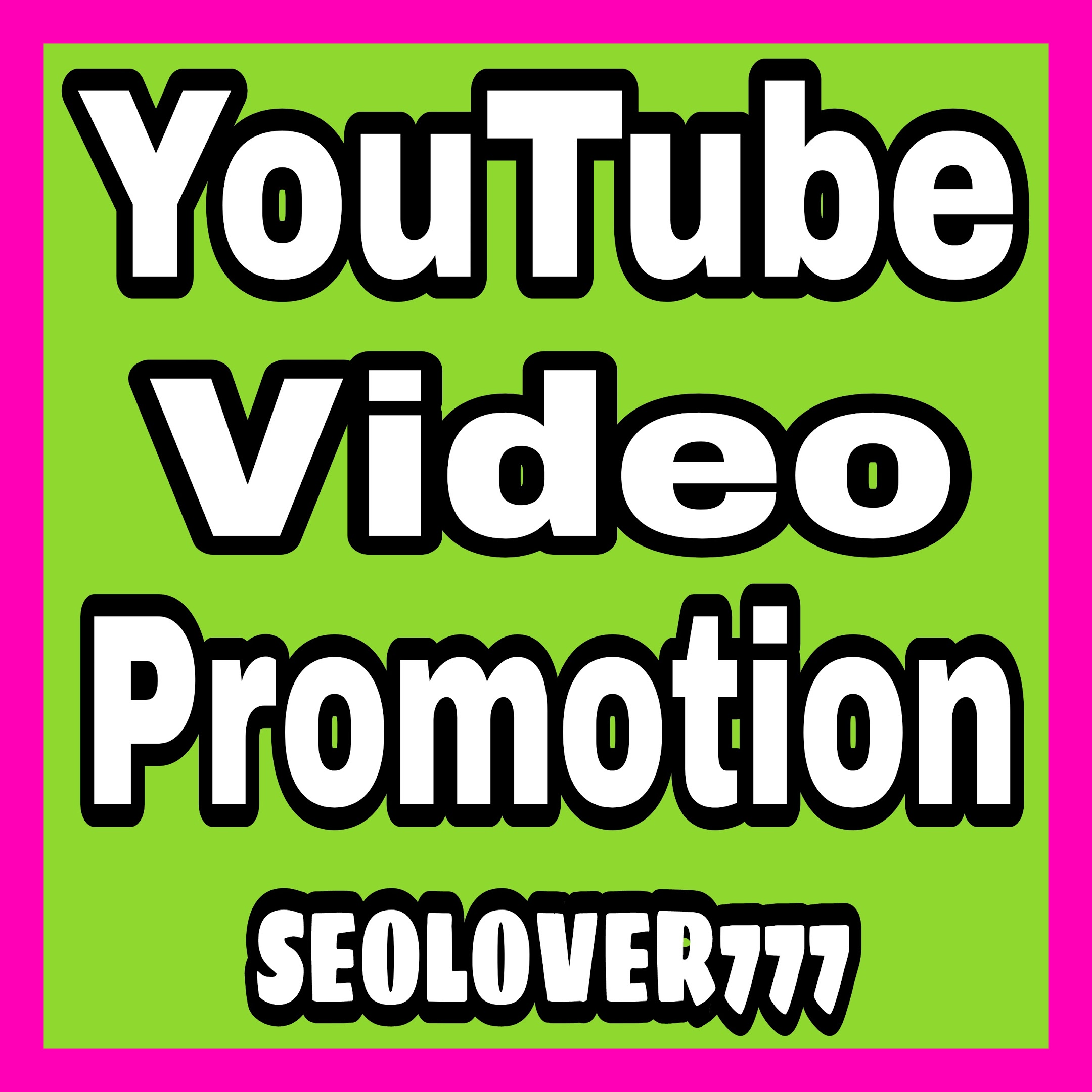 Best YouTube Organic Video Promotion & Marketing for you