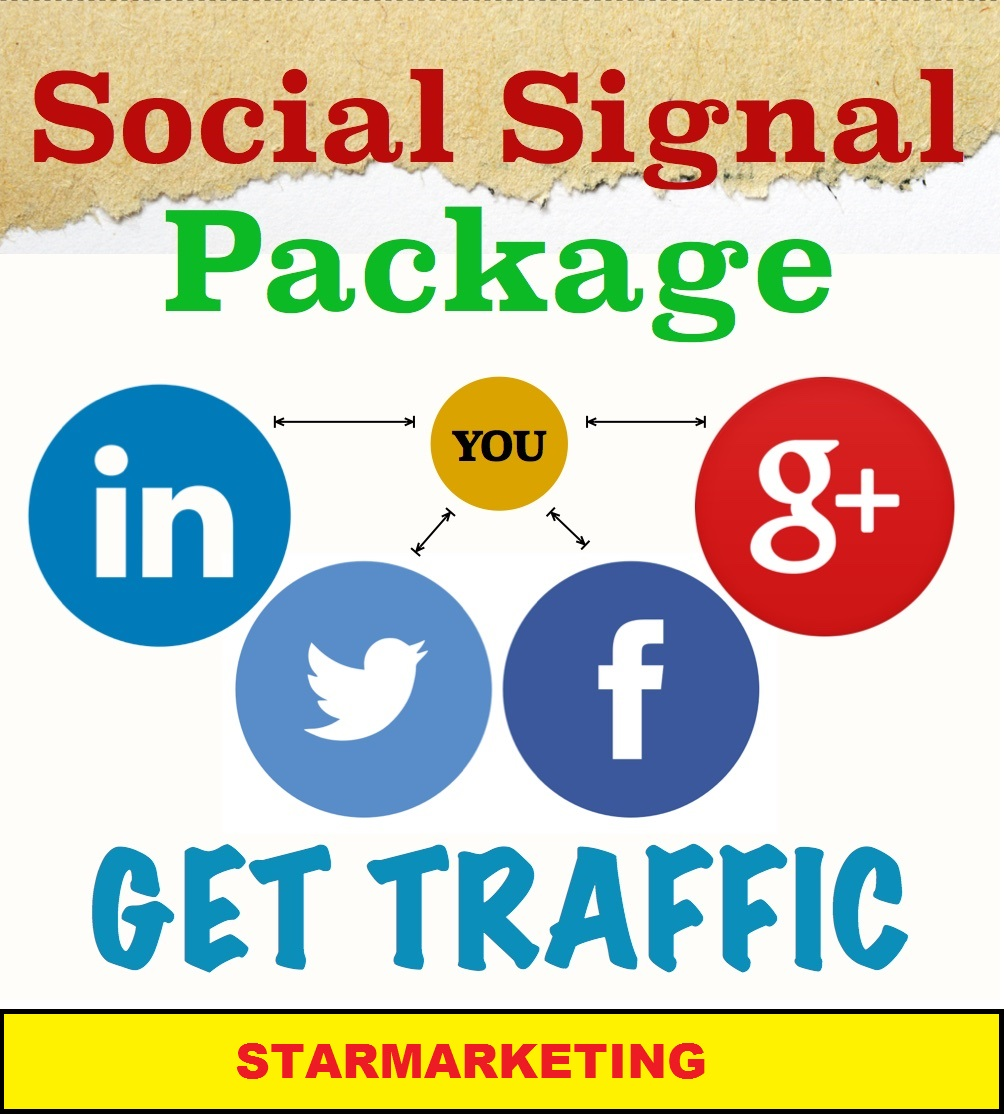 Boost your ranking on Google 5000+ Real SEO Social Signals Pack