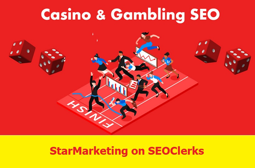 Build 100 Casino Niche Relevant Blog comments Backlinks