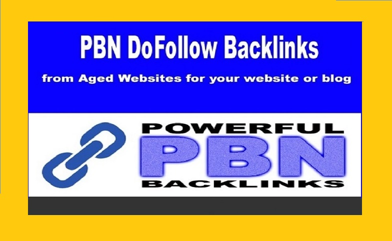 Build 10 PBN Dofollow Backlinks from high Domain Metrics