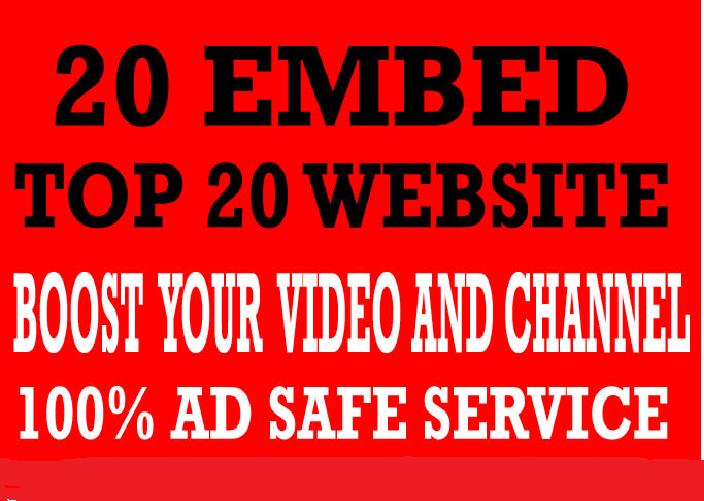 I will do organic youtube promotion