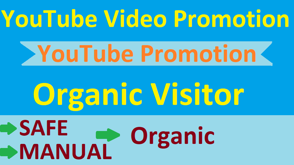 YouTube Video Visitor Promotion via Real World Wide Visitor