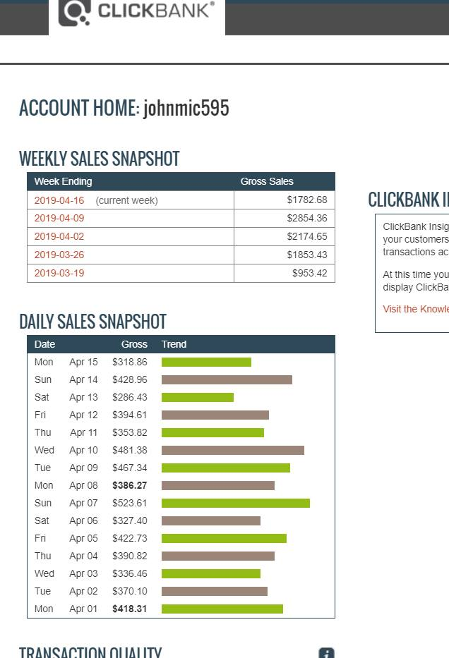 Show You How To Make 5,000 Dollars Monthly With Clickbank Affiliate Marketing