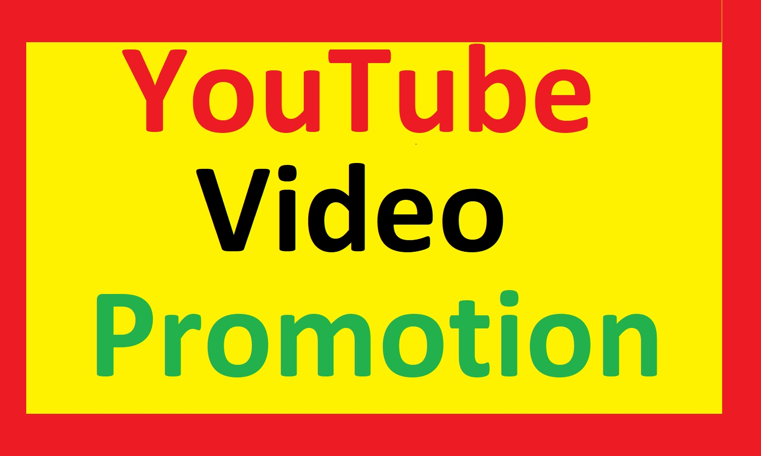 Good retention YouTube video promotion for your video