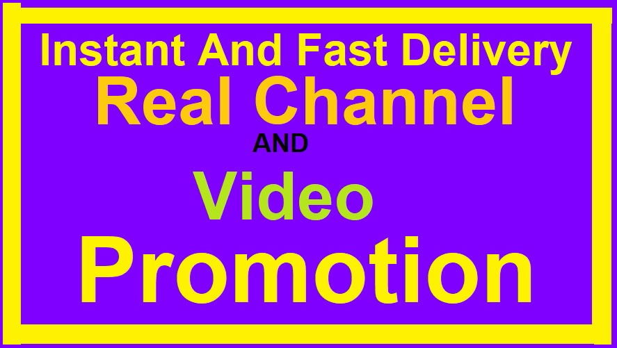 VERY FAST YOUTUBE VIDEO AND CHANEL PROMOTION VIA REAL AUDIENCE YOUR VIDEO