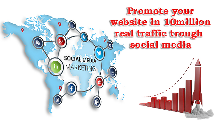 Promote your website in 10 million real traffic
