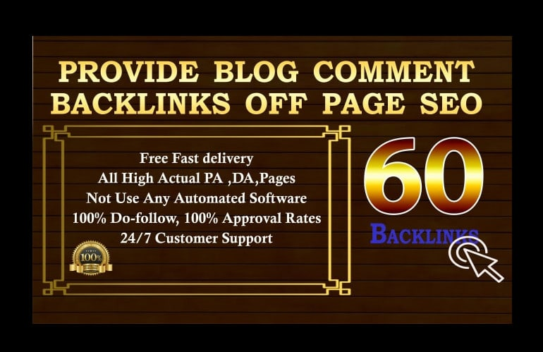 Manually Build 60 DF Blog Comment BUY 3 Get 1 Free