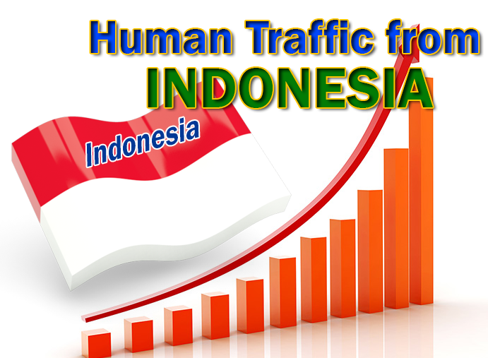 Advertising campaign from Indonesia to get 2000 high quality traffic