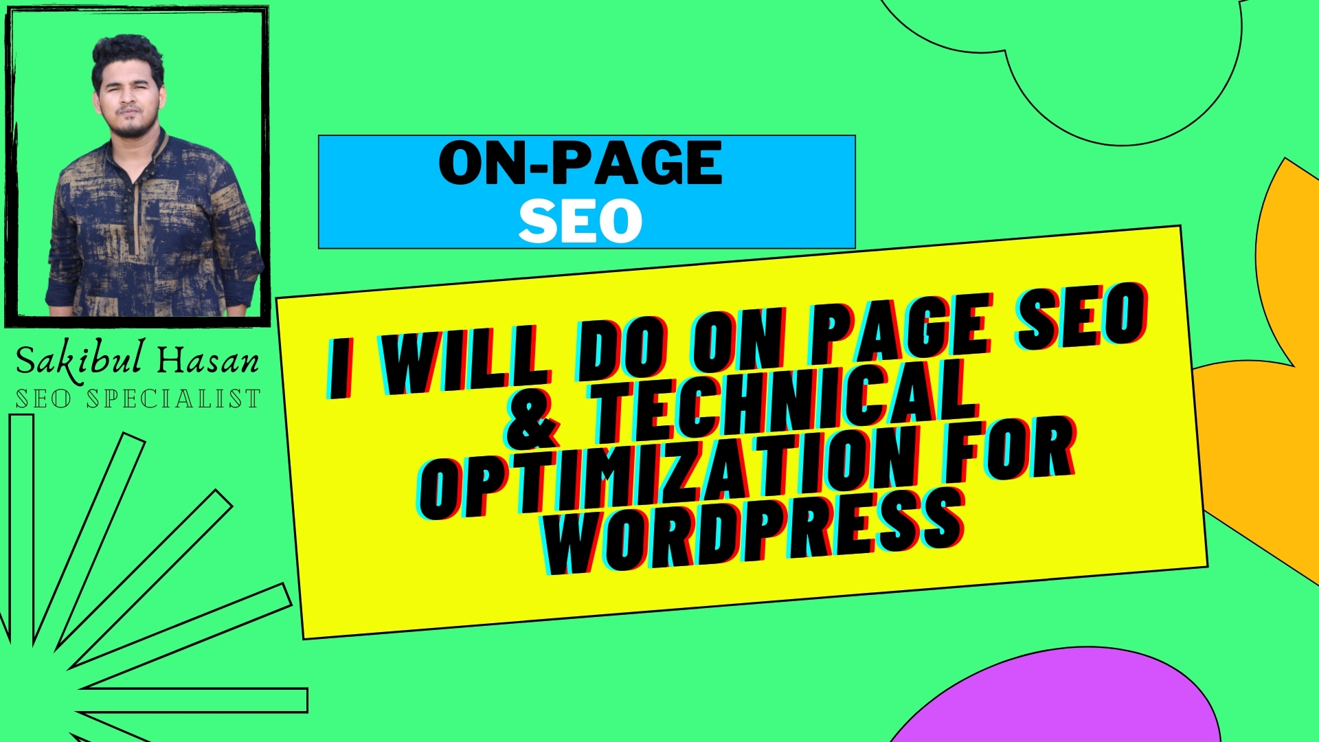 I will Optimize Your On-Page SEO Factors to Help You Rank Better On Google