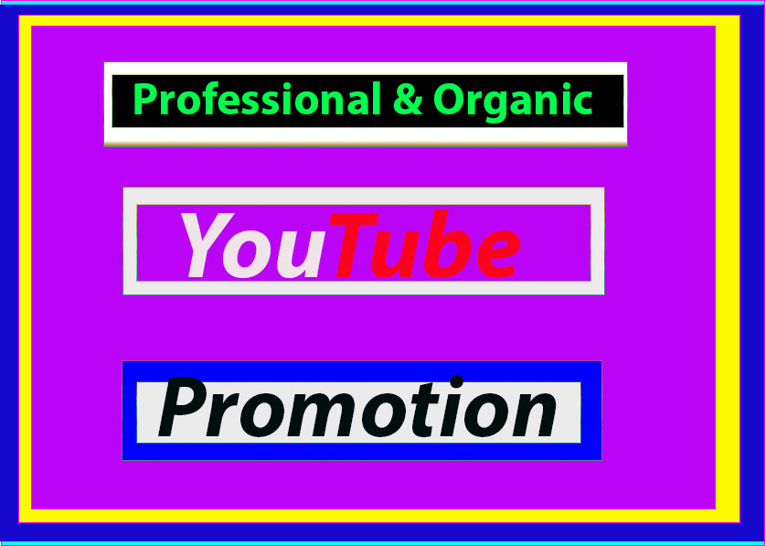 High-Quality promotion & Marketing Via Social Media Network