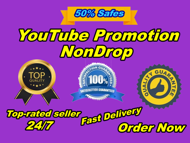 You Will Get Natural YouTube Promotion Permanent