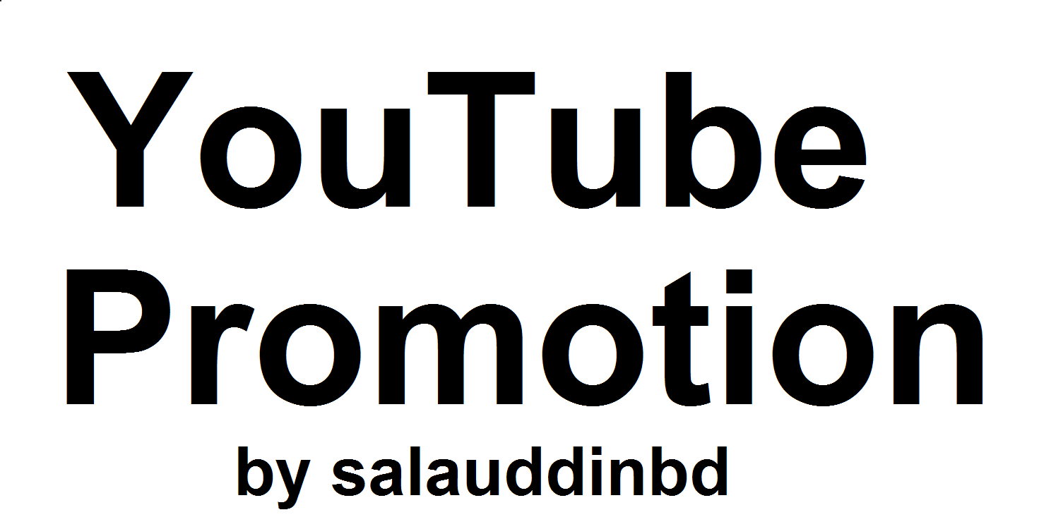 YouTube Video High Quality And Social Media Promotion Marketing