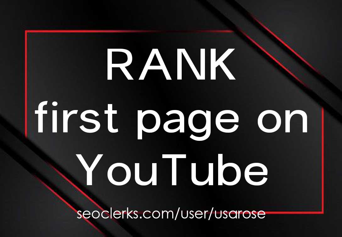 Rank Your Video On YouTube, Search Results Top Page 1, YouTube SEO