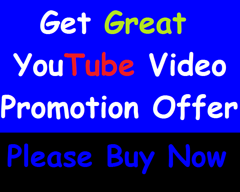 I will Provide You Great Youtube Video Promotion Manual Work