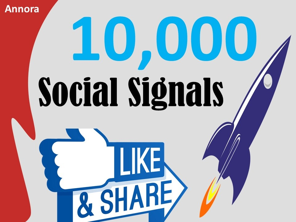 NO1 Social Media Platform 10,000+ PR10 SEO Social Signals Share / Bookmarks Important Google Ranking