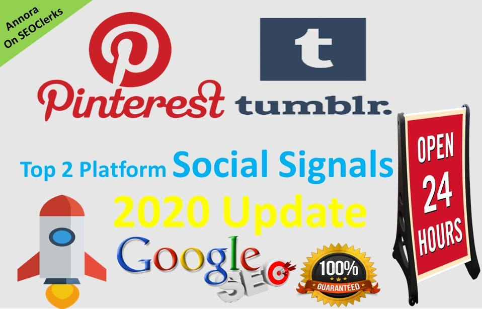 300 Tumblr+300 Pinterest Powerful PR9 social signal share