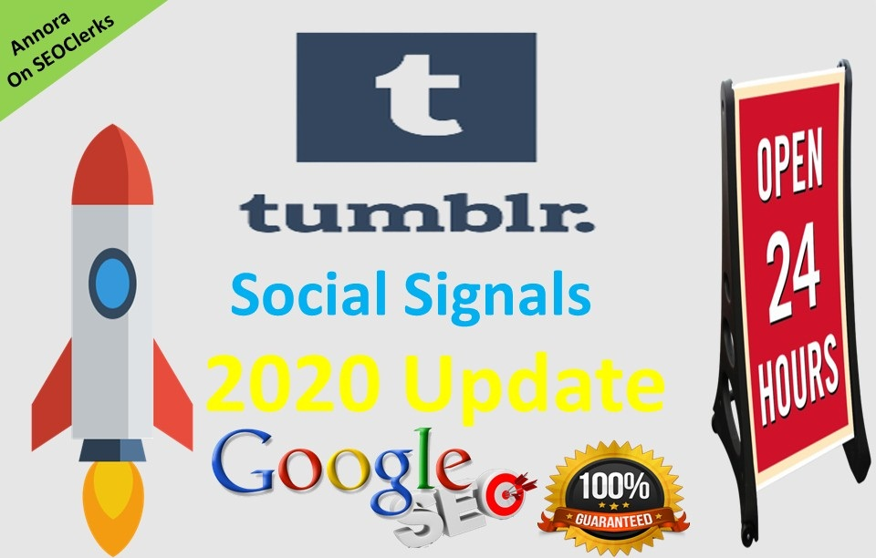 PowerFul 800+ PR9 Tumblr Permanent Social Signals Share Help To Increase Website SEO