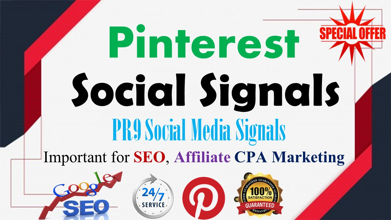 15,000 Pinterest LifeTime share social Signals important for SEO Ranking
