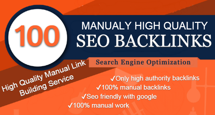 I Will Add 100 High Quality Seo Backlinks For Ranks Your Website