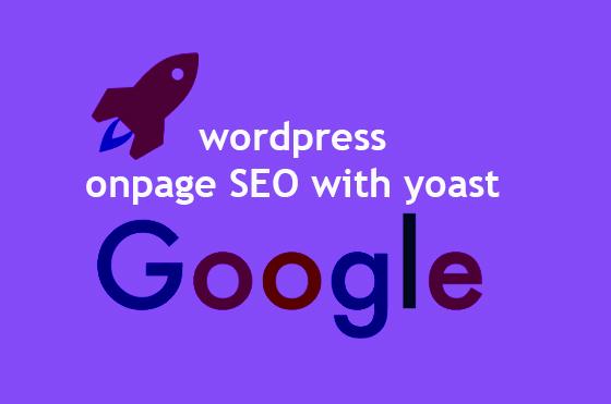 I will do wordpress onpage SEO with yoast
