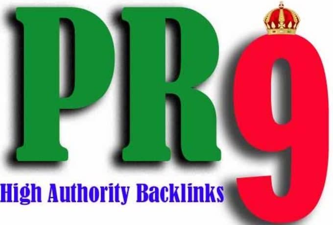 """""""I Will"""" do 400 pr7 to pr9 SEO links for 2020 google rankings"""