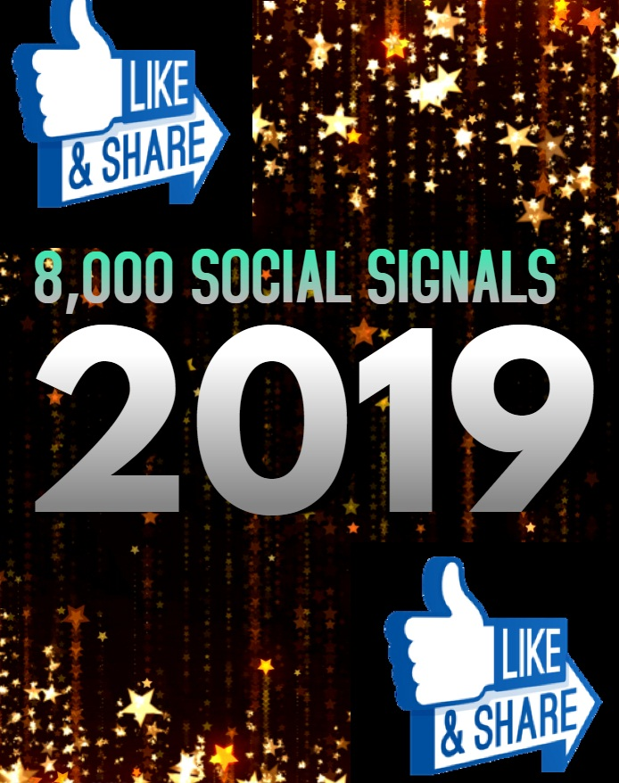 TOP 8,000 SOCIAL SIGNALS With NUCLEAR SEO