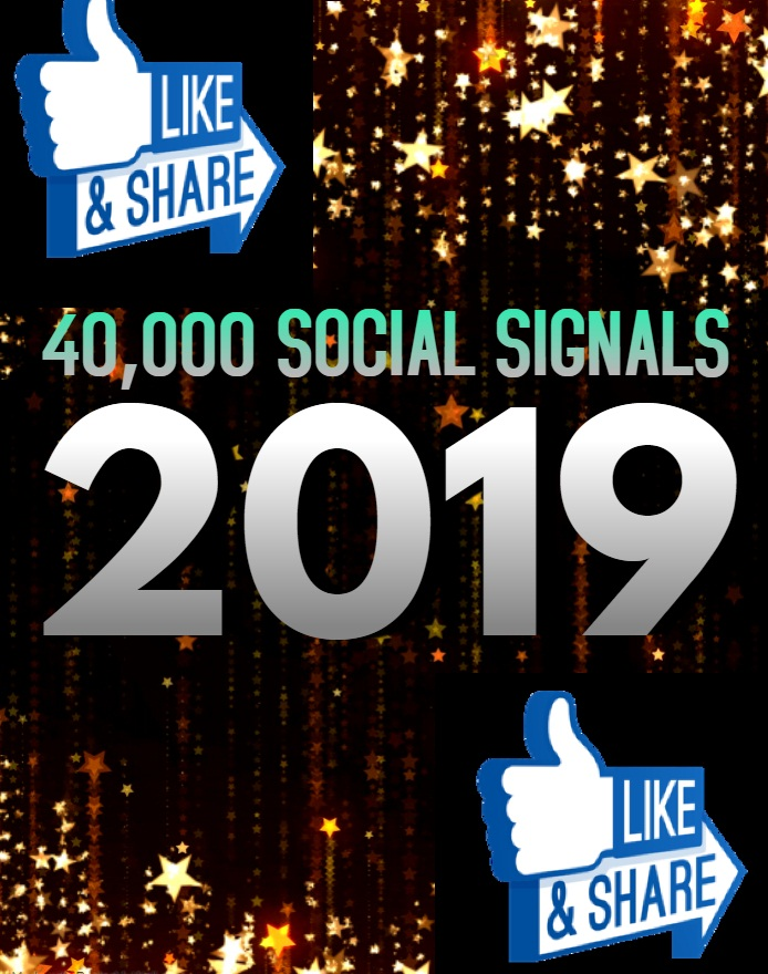 TOP 40,000 SOCIAL SIGNALS With NUCLEAR SEO