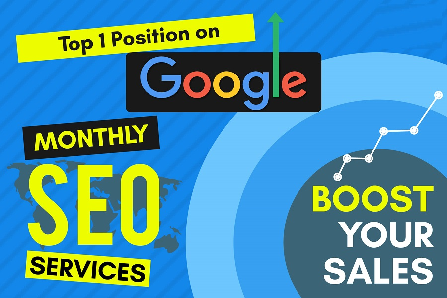 I will do monthly SEO service higher ranking in google