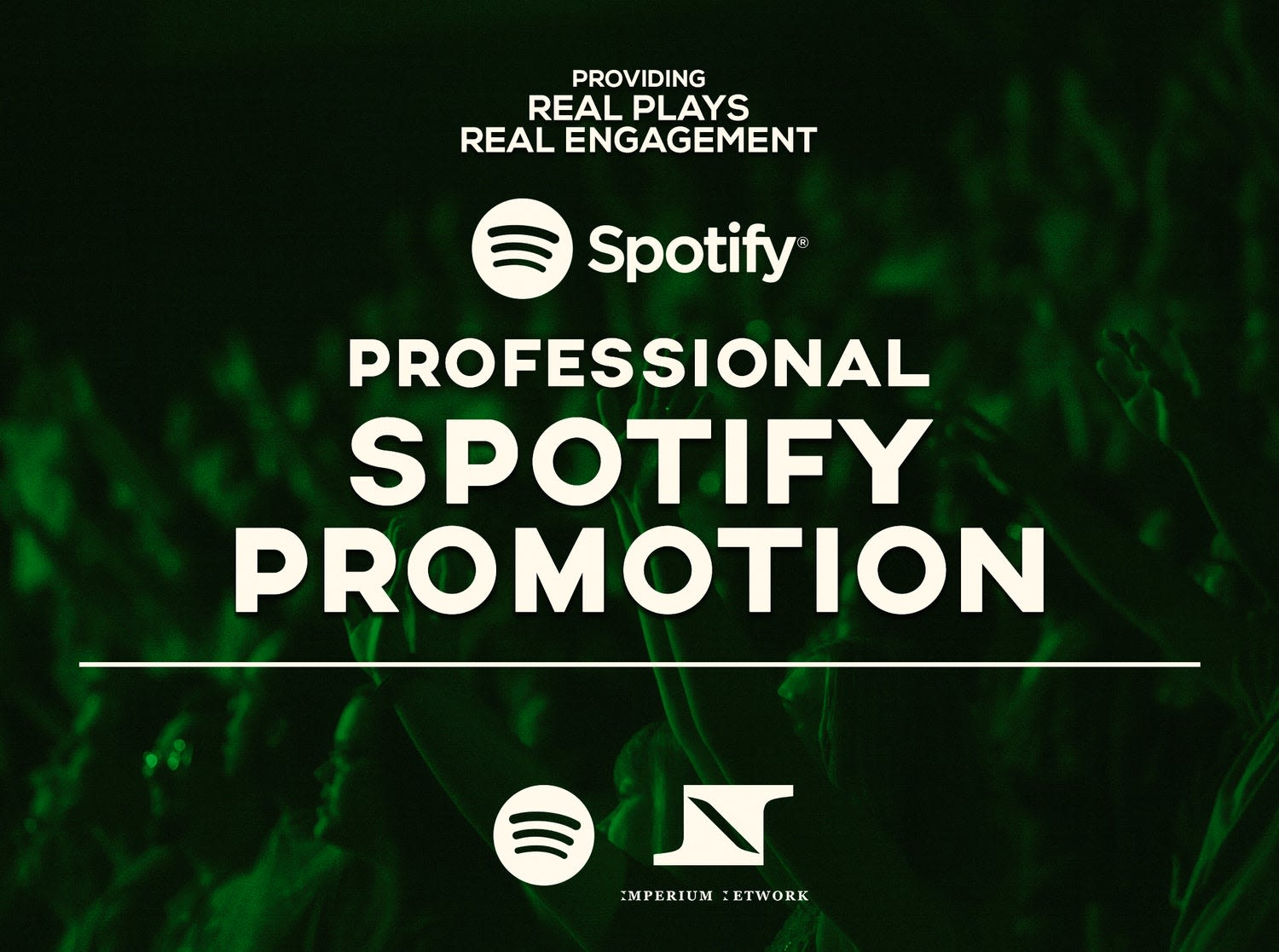 I will do organic music promotion,  do viral track promotion