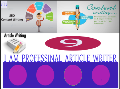 I will Write 09 Eloquent,  monopolistic,  distinct,  convenient and Quality Article