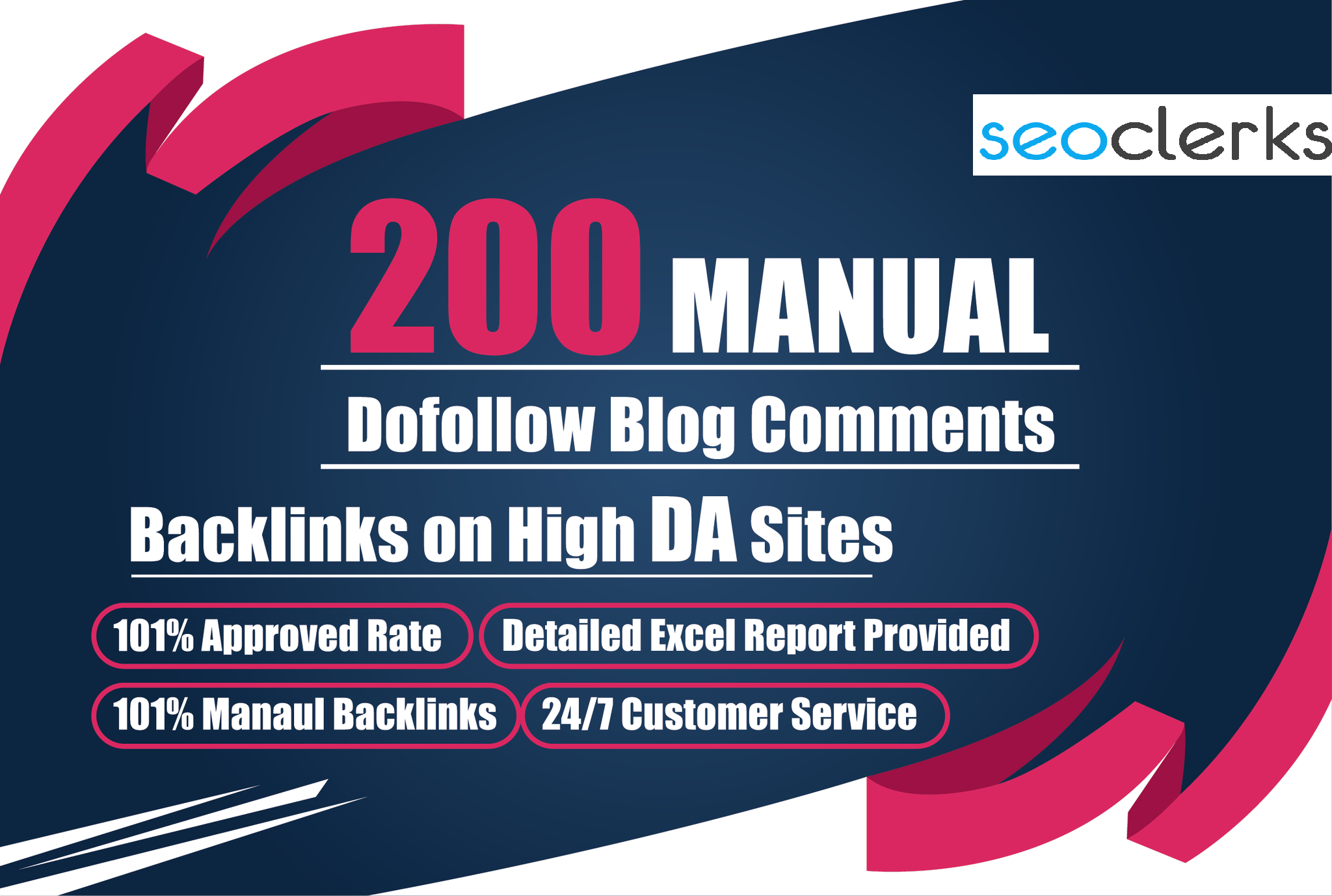 200 Manual Dofollow Blog Comments On Relevant site