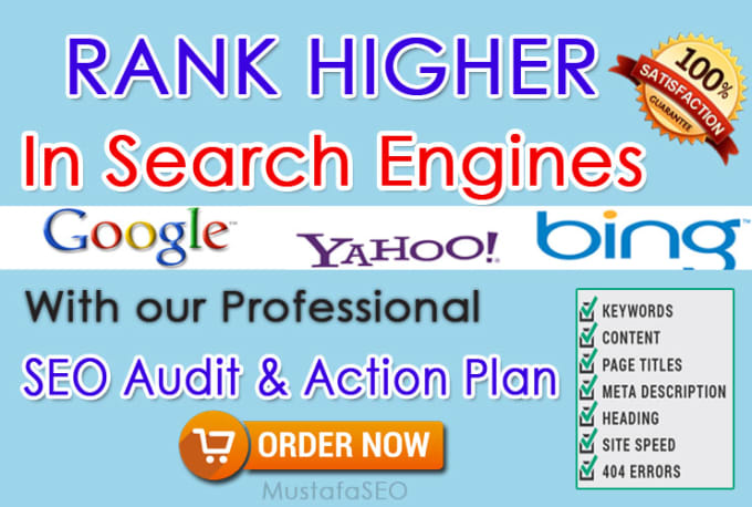 create detailed SEO audit report and action plan for your website&rlm