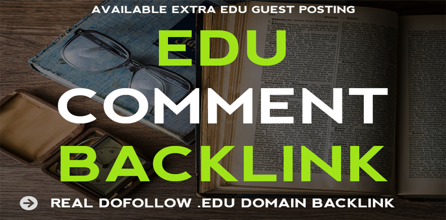 One EDU Comment Backlinks on EDU Websites