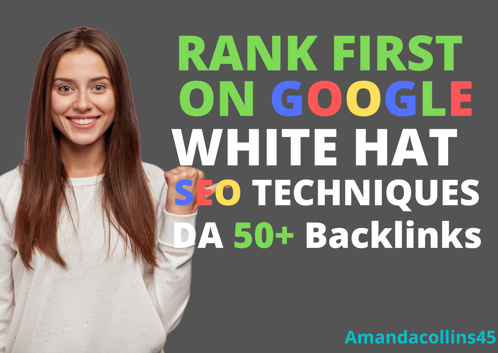 rank your website google 1st using white hat trusted 110+ SEO backlinks Techniques